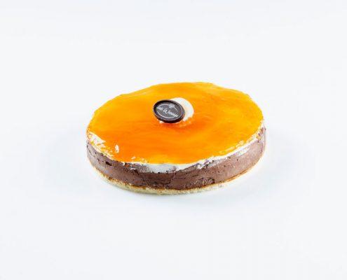 Tarta mousse de chocolate y naranja Sosoaga