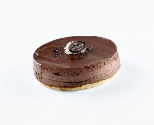 Tarta mousse de chocolate Sosoaga