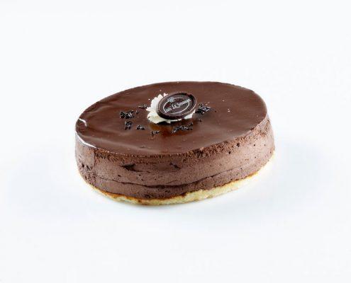 Tarta mousse de chocolate Sosoaga